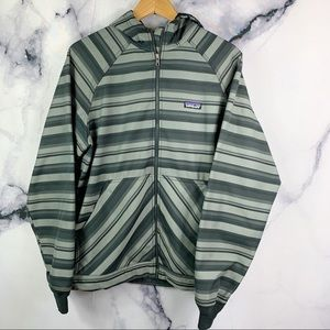 PATAGONIA Slopestyle Hoody  Jacket Striped Gray